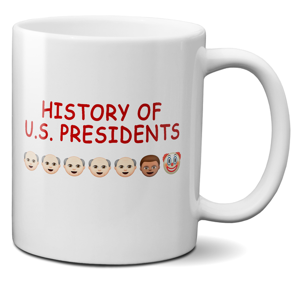 history of u.s. presidents shirt mug