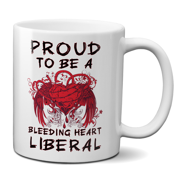Proud To Be A Bleeding Heart Liberal t-shirt