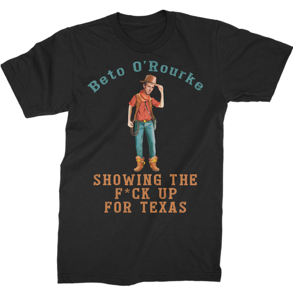 Beto O'Rourke, Showing The F*ck Up For Texas