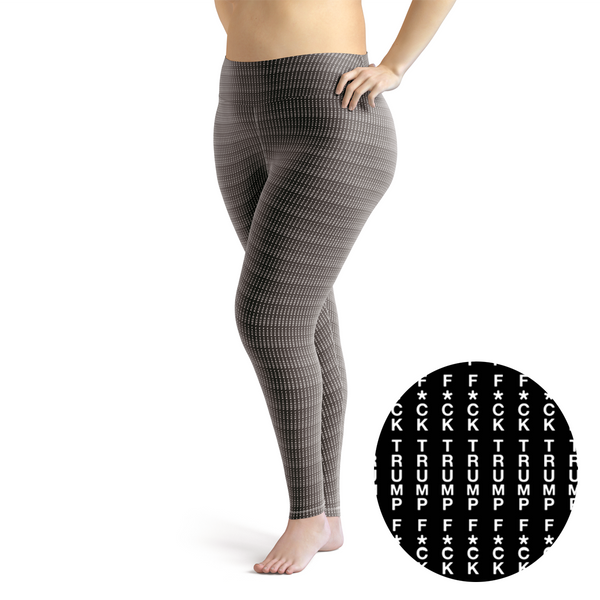F Trump Plus Size Leggings