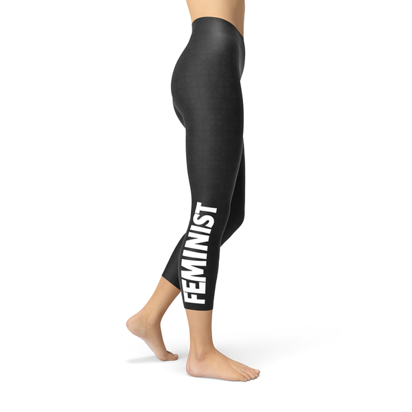 Feminist Capri Leggings