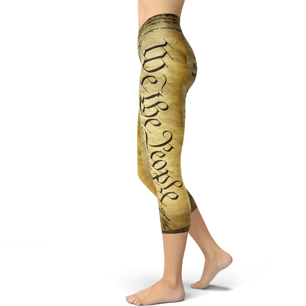U.S. Constitution Capri Leggings