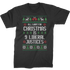 ugly christmas sweater shirt raglan 3/4 sleeve t-shirt christmas shirts