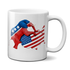 Of Course It Hurts. America Is Getting Screwed By An Elephant Mug