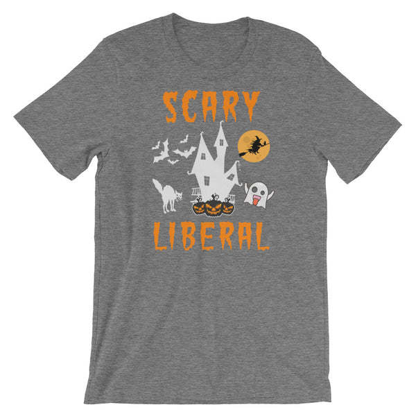 Scary Liberal Halloween T-Shirt, , LiberalDefinition
