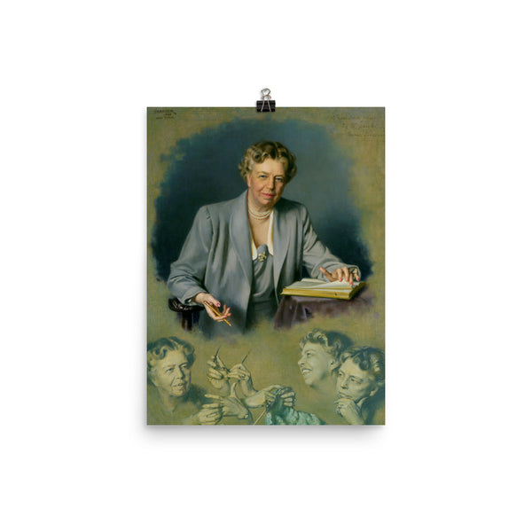 First Lady Eleanor Roosevelt's White House Portrait, , LiberalDefinition