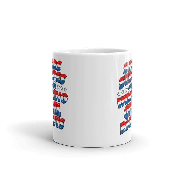 Stars, Stripes And Winning Civil Rights Patriotic Mug