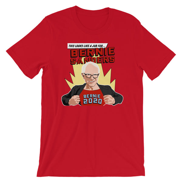 This Looks Like A Job For Bernie Sanders | Bernie 2020 T-Shirt
