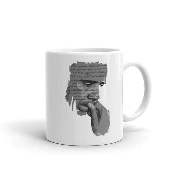 """For Now Decisions Are Upon Us..."" Barack Obama Quote Mug, , LiberalDefinition"