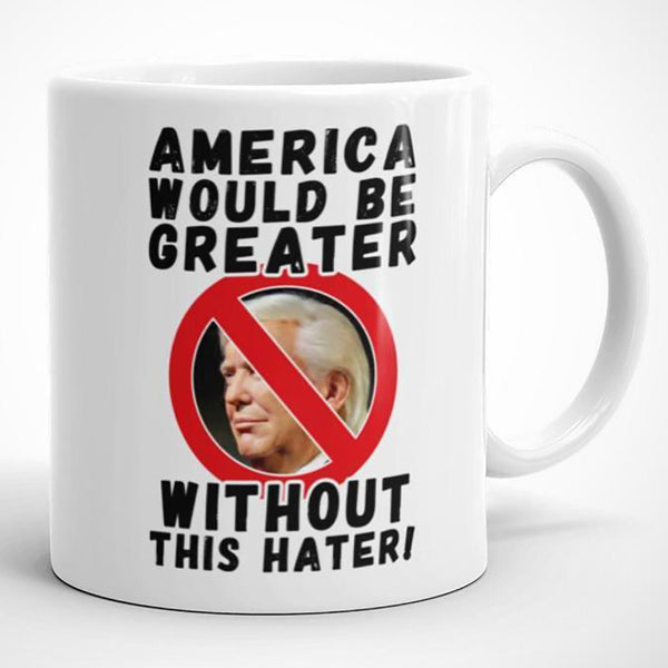 America Would Be Greater Without This Hater Mug