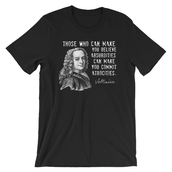 Voltaire Quotes T-Shirt
