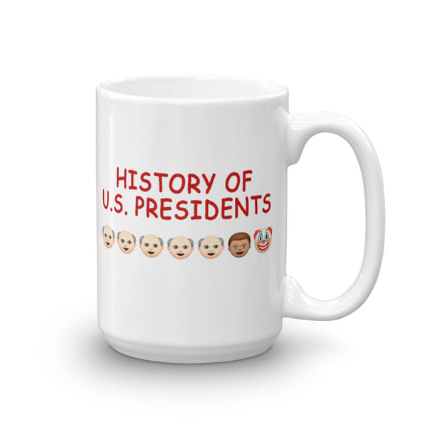 History Of U.S. Presidents Mug