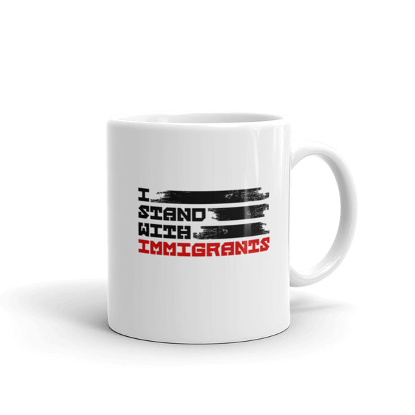 I Stand With Immigrants Mug