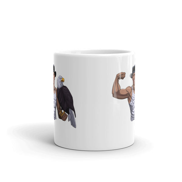 Barack Obama And The American Eagle Mug