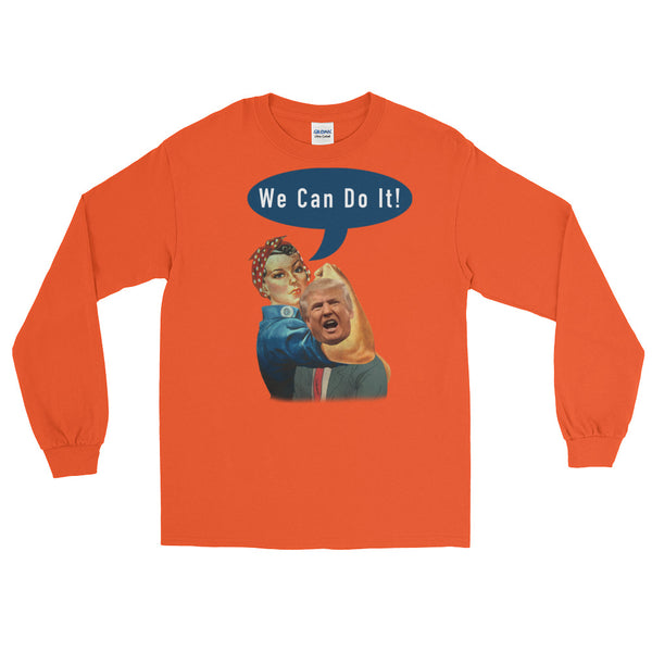 We Can Do It, Rosie Handling Long-Sleeved T-Shirt