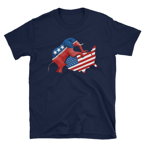 Of Course It Hurts. An Elephant Is Screwing Our Country T-Shirt