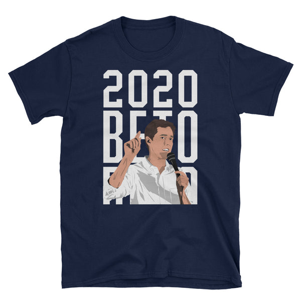 Beto O'Rourke 2020 T-Shirt (Black and Navy)