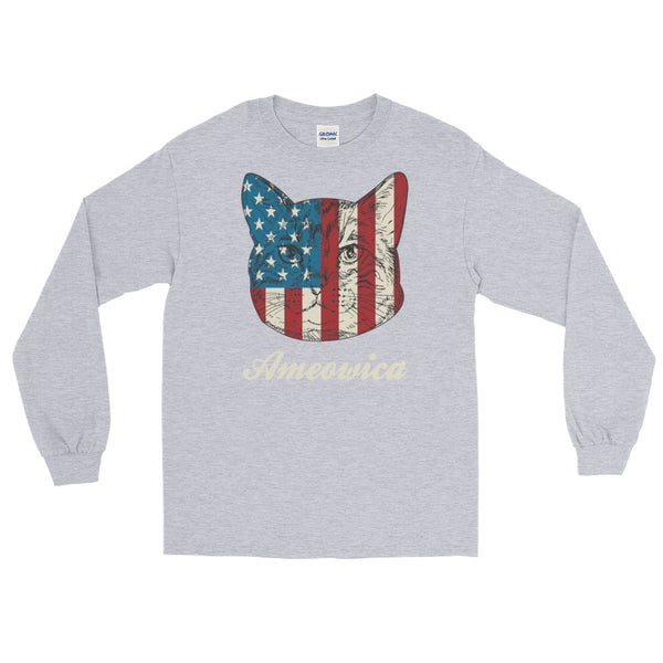 Ameowica Long-Sleeved T-Shirt