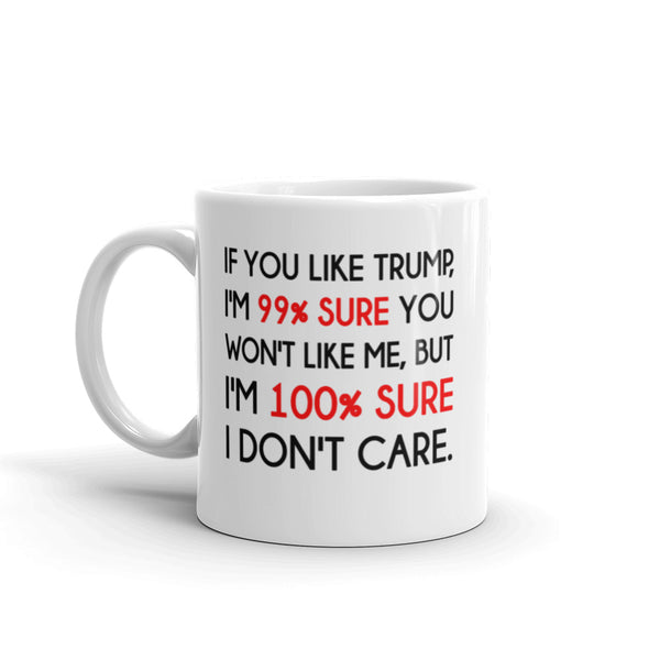 If You Like Trump, I'm 99% Sure You Won't Like Me Mug