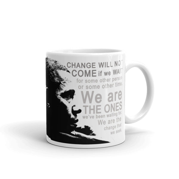 "Barack Obama ""Change We Seek"" Mug"