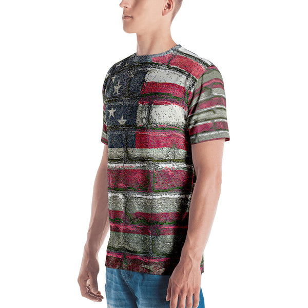 American Flag All Over T-Shirt, , LiberalDefinition