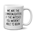 We Are The Granddaughters Of The Witches You Couldn't Burn Mug