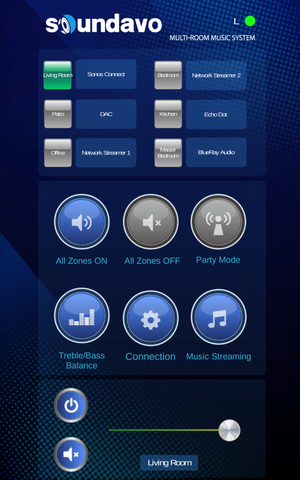 WS66i (KIT-Package) Whole-Home Audio Distribution Network Controller Matrix with Streamer & App Control