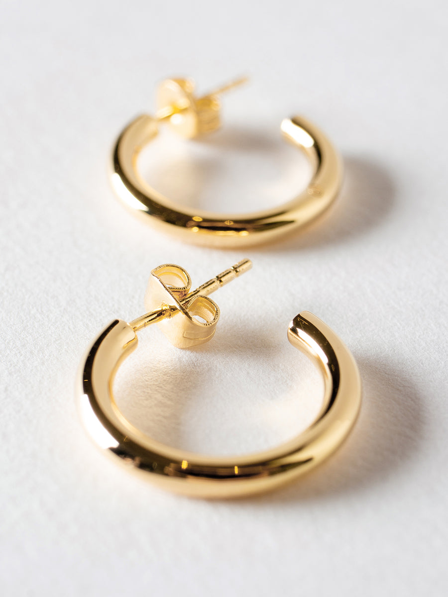 Semi Hoop Earrings