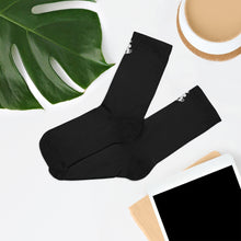 Load image into Gallery viewer, PR Logo Socks - Black