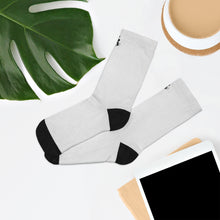 Load image into Gallery viewer, PR Logo Socks - White