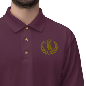 PR Royalty Men's Jersey Polo Shirts