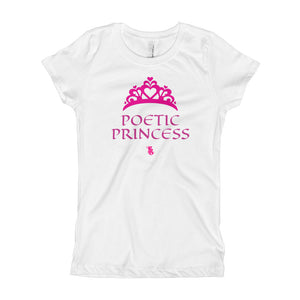 Poetic Princess Girl's T-Shirts