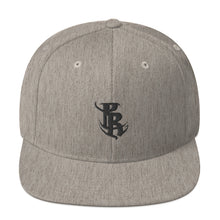 Load image into Gallery viewer, Black PR Logo Snapback Hats
