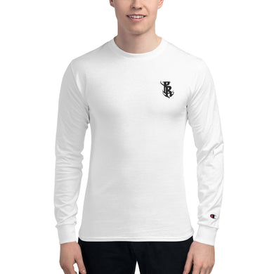 Men's PR Logo Champion Long Sleeve Shirt