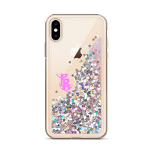 Load image into Gallery viewer, PR Logo Liquid Glitter Phone Cases