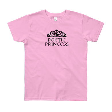 Poetic Princess Youth Short Sleeve T-Shirts