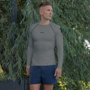 Men's Rash Guard - Grey