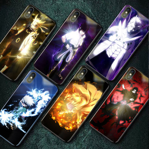 Naruto Smart LED Glowing Case For iPhone