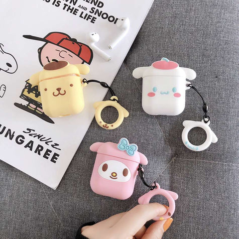 Cartoon Kawaii Cover Case For AirPods