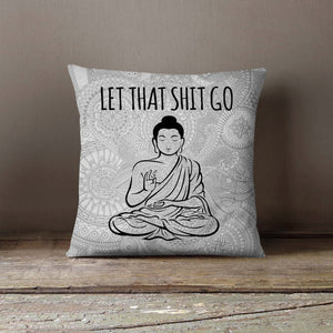 Buddha Yoga Pillowcase Cover