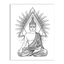 Load image into Gallery viewer, Buddha Wall Art