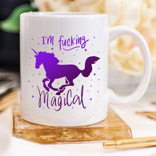 Load image into Gallery viewer, I'm F*cking Magical Unicorn Mug