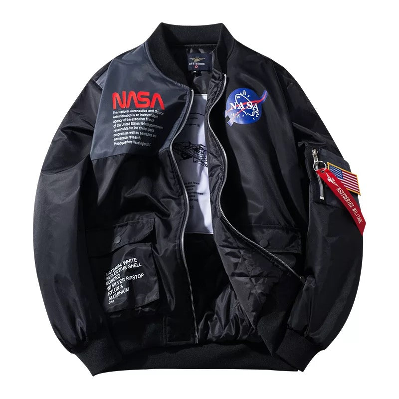 "WLS ""NASA"" Bomber Jacket"
