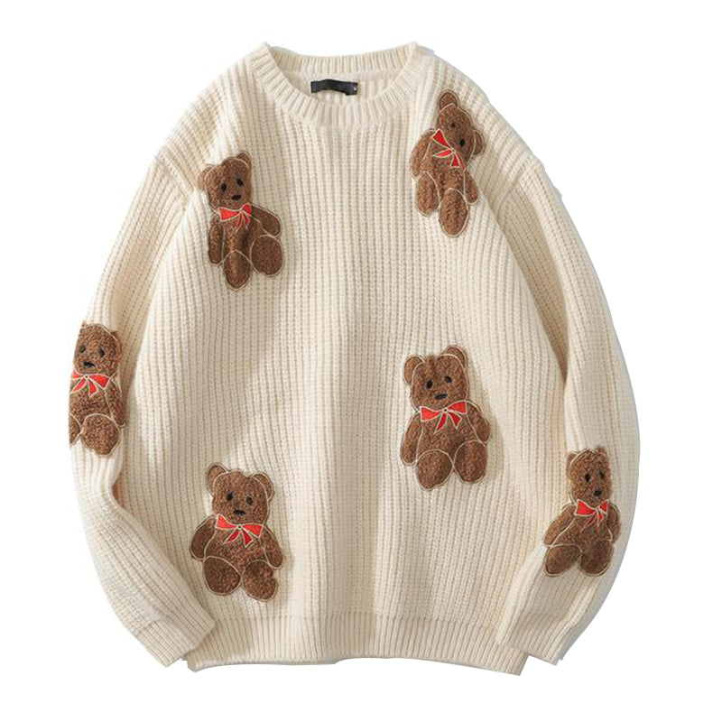 WLS Ted X Knit Sweater