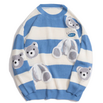 WLS Embroidered B Sweater