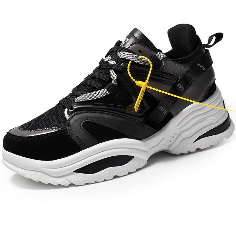 Phoenix Wave Runner Sneakers - Black Stripes