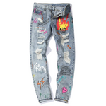 "WLS ""Love 666"" - Jeans"