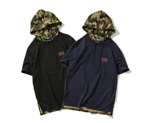 """Hooded Camo"" T-Shirt"