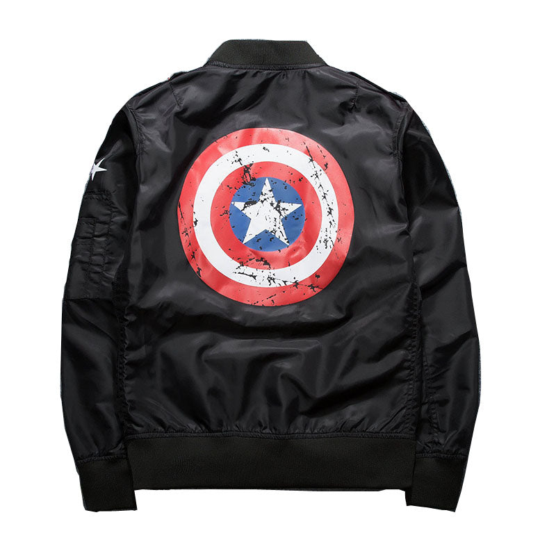 """Captain America"" Bomber Jacket"