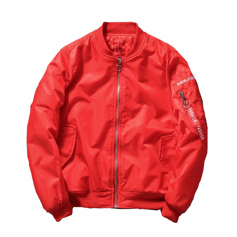"""Peace"" Bomber Jacket"